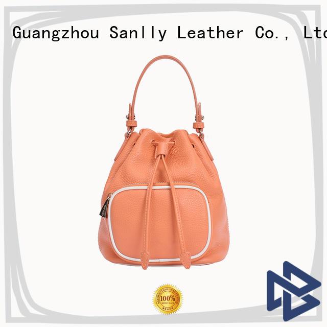 Sanlly Latest designer leather tote handbags ODM for modern women