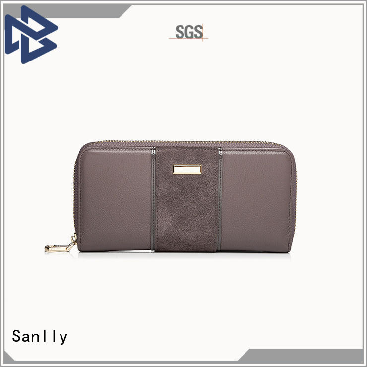 Sanlly latest womens leather mini wallet for business for modern women