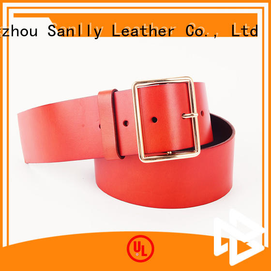Sanlly funky mens fashion belts OEM for men