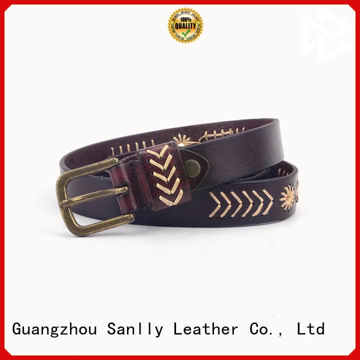 Sanlly fashion good belts for men supplier for modern men