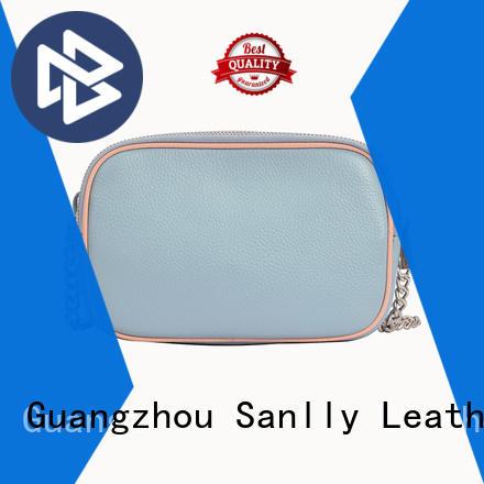Sanlly bags black shoulder strap bag supplier for girls