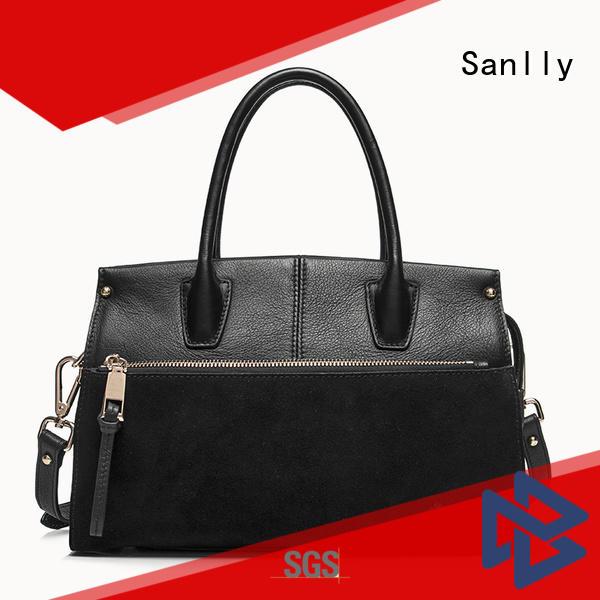 New cream leather handbags ladies Supply for modern women