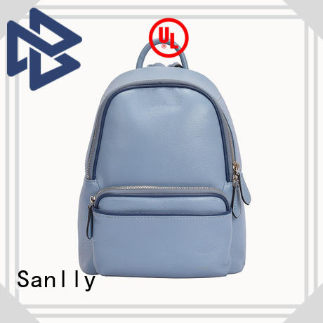Sanlly durable ladies leather backpack bags for wholesale for modern women