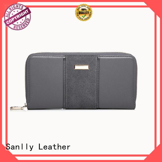 Sanlly durable women's billfold customization for modern women