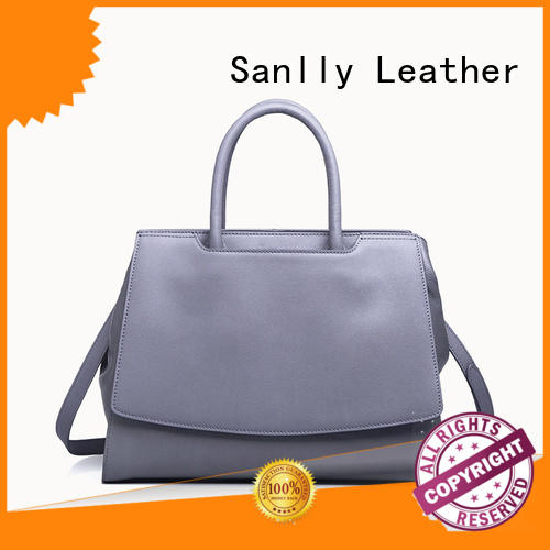 Sanlly Latest quilted leather handbag ODM for women