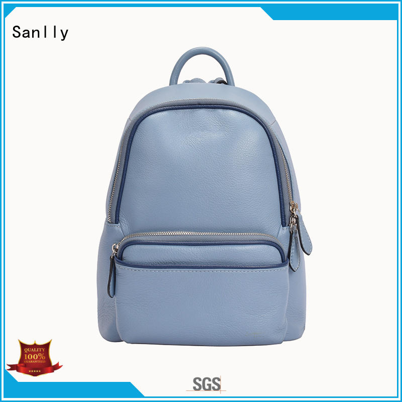 Sanlly high-quality womens black backpack handbag get quote for girls