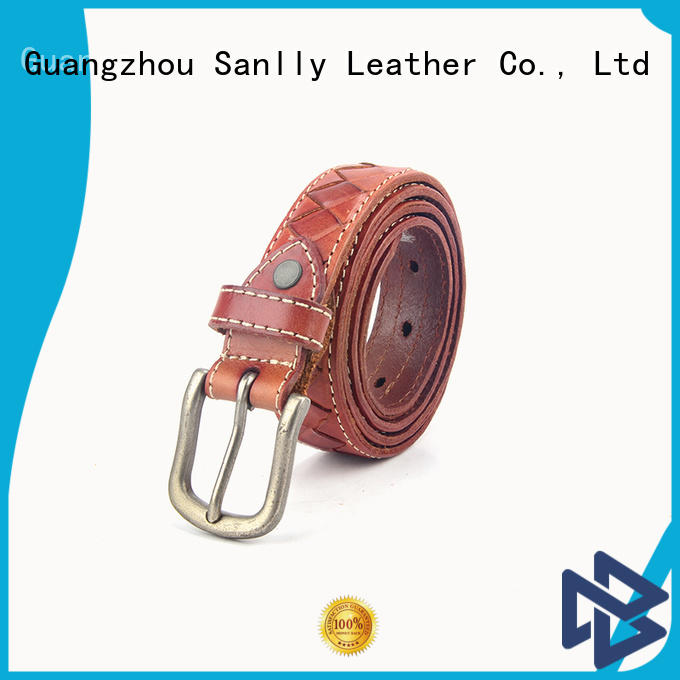 latest best mens leather belts fashion bulk production for men
