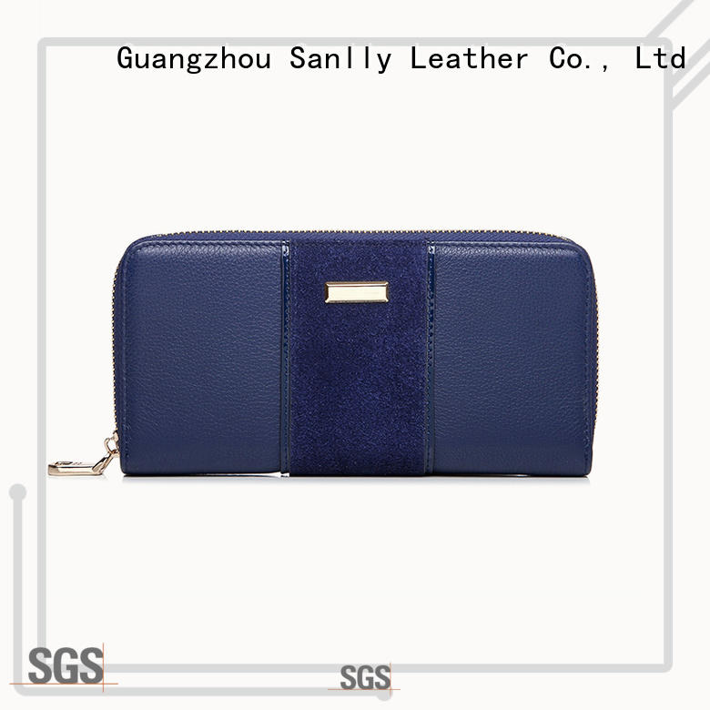 high-quality womens leather purse wallet women OEM for girls
