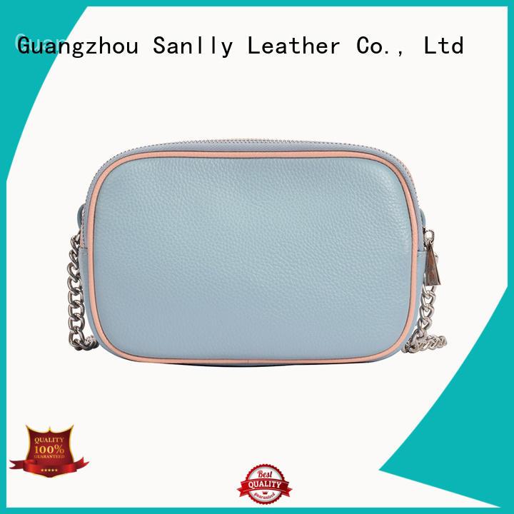 Sanlly high-quality shoulder hobo handbags free sample for shopping