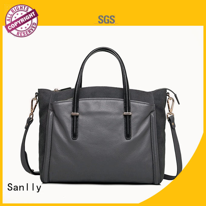 Sanlly handmade women shoulder bag bulk production for women