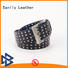 Breathable pure leather belt for mens full buy now for men