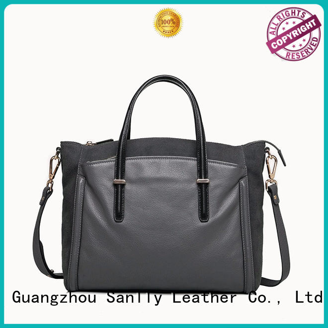 Sanlly real shopping ladies bag bulk production for shopping