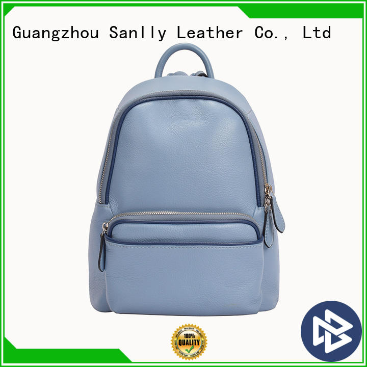 high-quality women's mini leather backpack design OEM for shopping