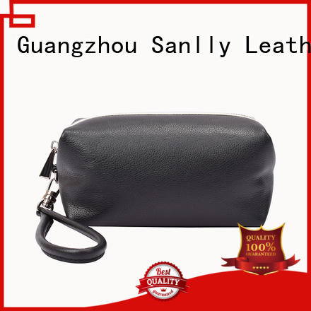 Sanlly high-quality ladies leather wristlets for wholesale for women