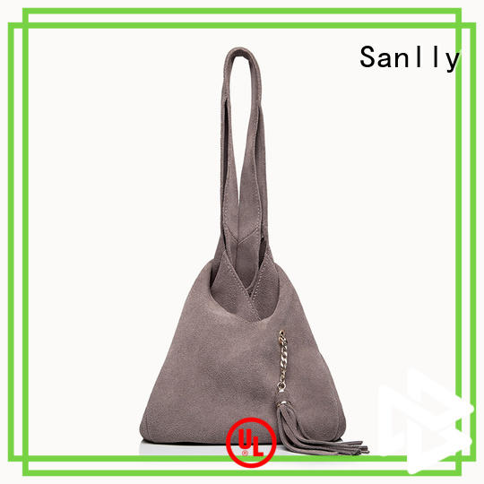 Sanlly latest best women's leather tote bags free sample for modern women