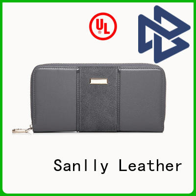 Sanlly solid mesh womens wallet purse ODM for modern women