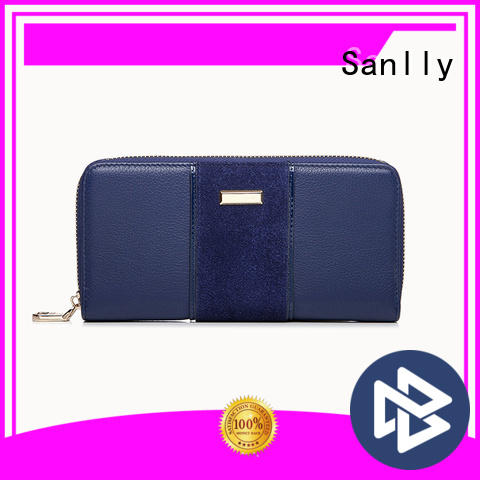 solid mesh beautiful womens wallets holder supplier for single shoulder