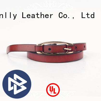 Breathable silver belt mens fashion company for men