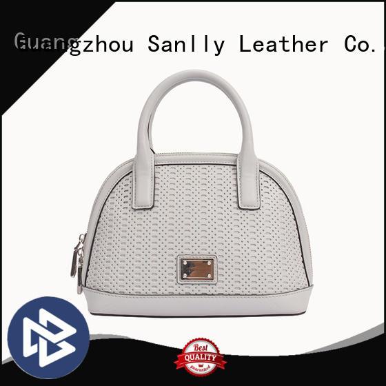 Sanlly cow women's handbags online shopping for business for girls