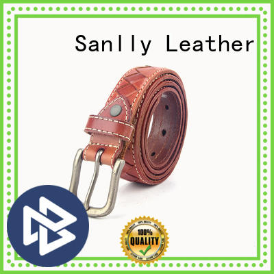 Sanlly funky mens braided belt buy now for shopping