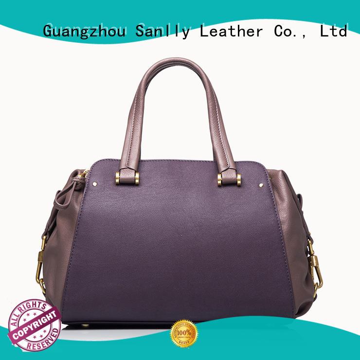 Sanlly latest lady bag bulk production