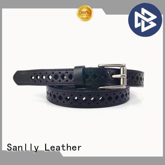 Sanlly Custom wide gold belt supplier