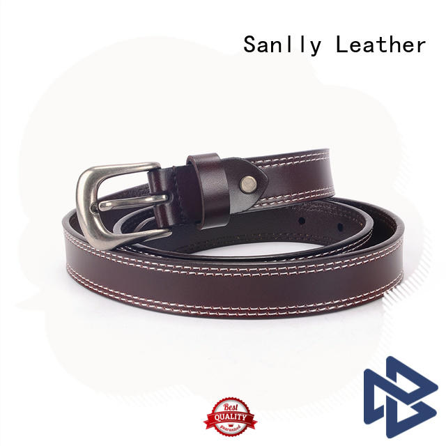 Sanlly High-quality mens navy dress belt get quote for men