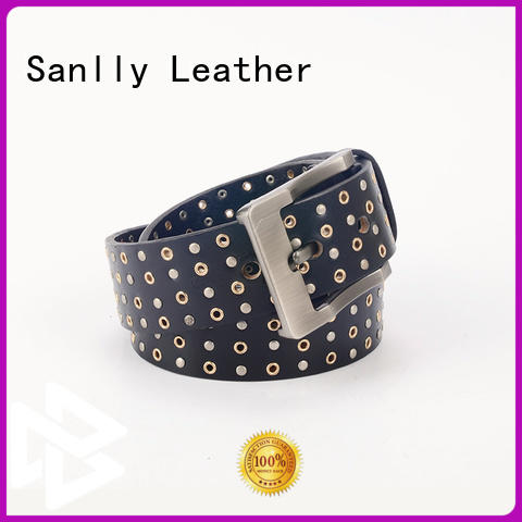 Sanlly customized trendy mens belts for wholesale for modern men