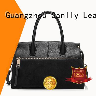 Sanlly latest best women's leather handbags customization for girls