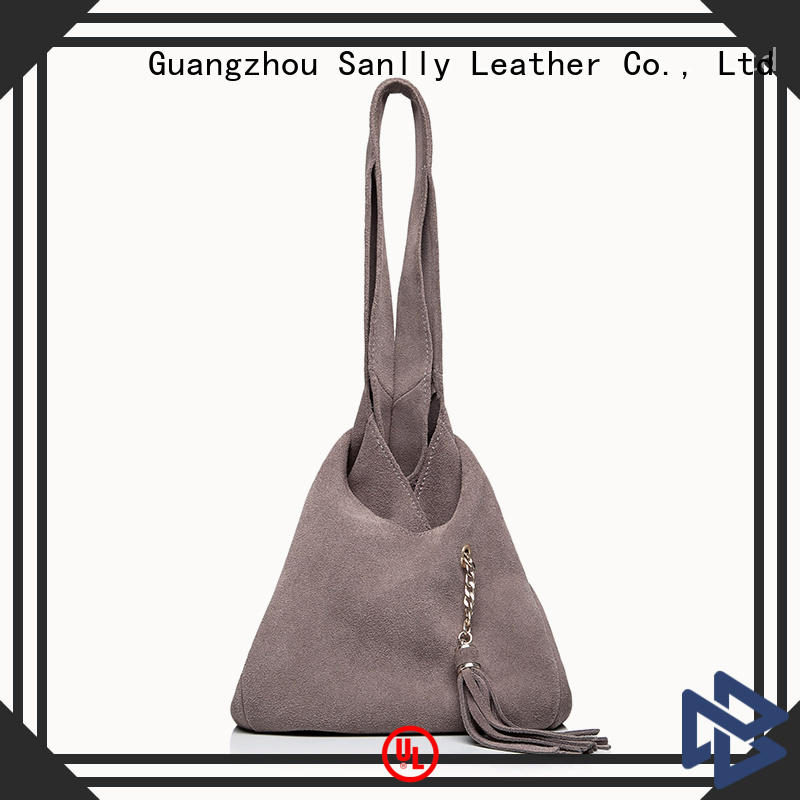 Sanlly high-quality best women's leather tote bags OEM for women