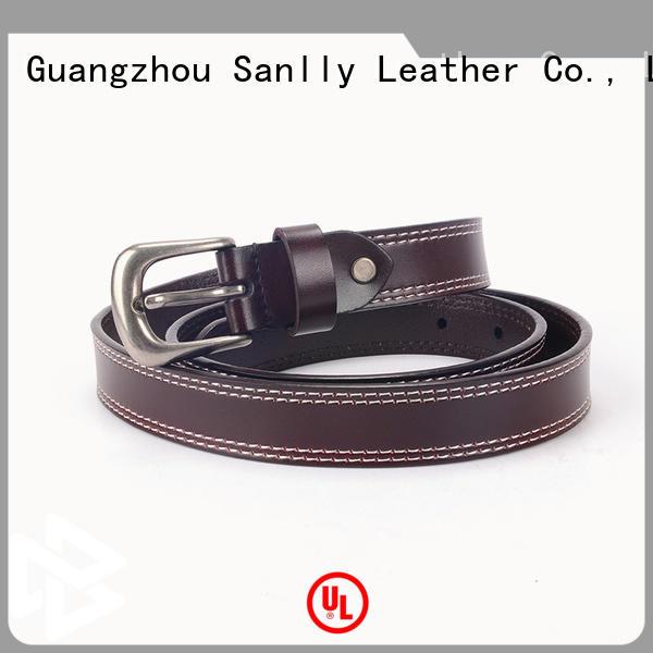 Breathable mens designer leather belts quality for wholesale for men