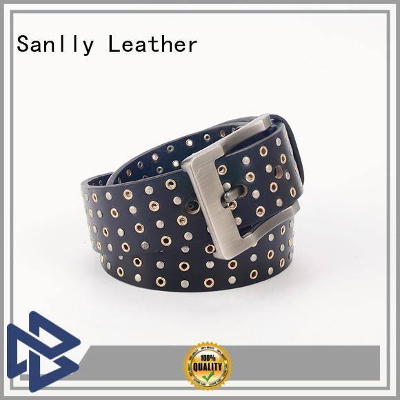 Sanlly New red belt for guys supplier for girls