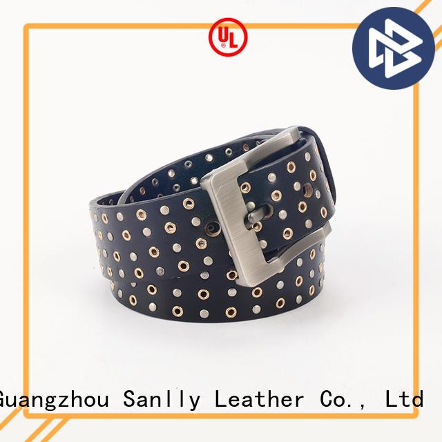 Punk Metal Design Men's Fashion Leather Belts