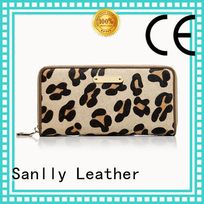 Leopard Haircalf Design Lady Wallet Latest Women's Wallets