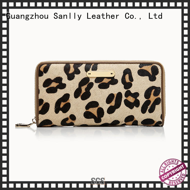 Sanlly Breathable womens leather purse for wholesale for girls