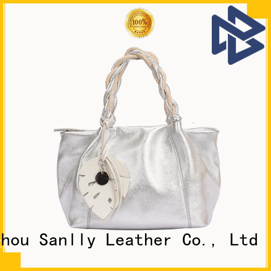 Sanlly portable where to buy leather bags for business for girls