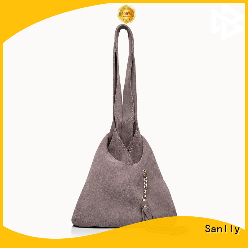 Sanlly at discount basic leather tote bag ODM for women