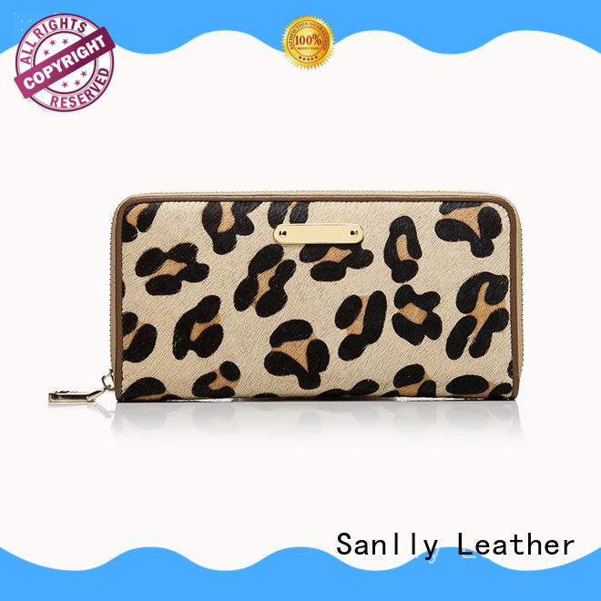 Sanlly womens card wallet womens OEM for shopping
