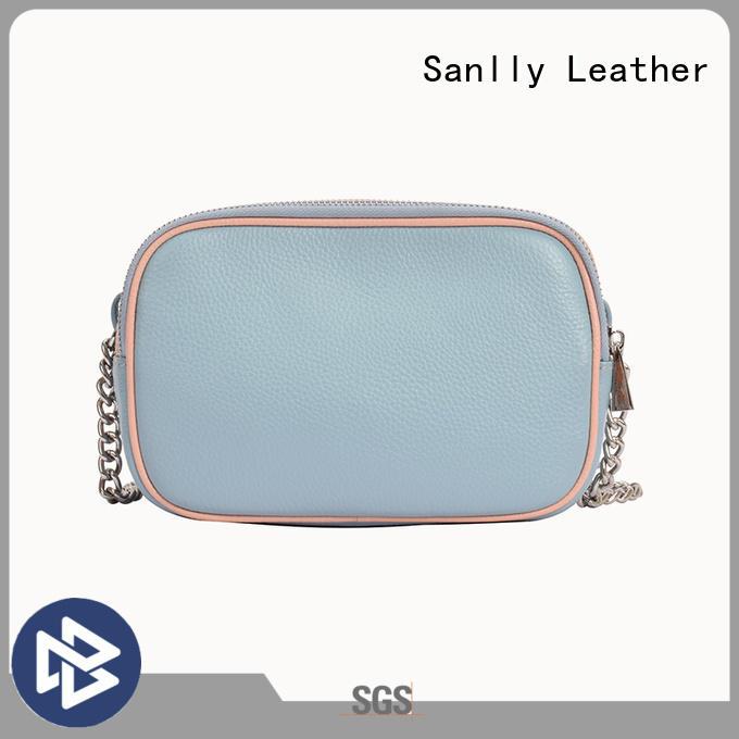 Sanlly shoulder soft leather shoulder bags for womens OEM for modern women