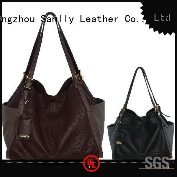Sanlly high quality ladies leather handbags winter suede for summer