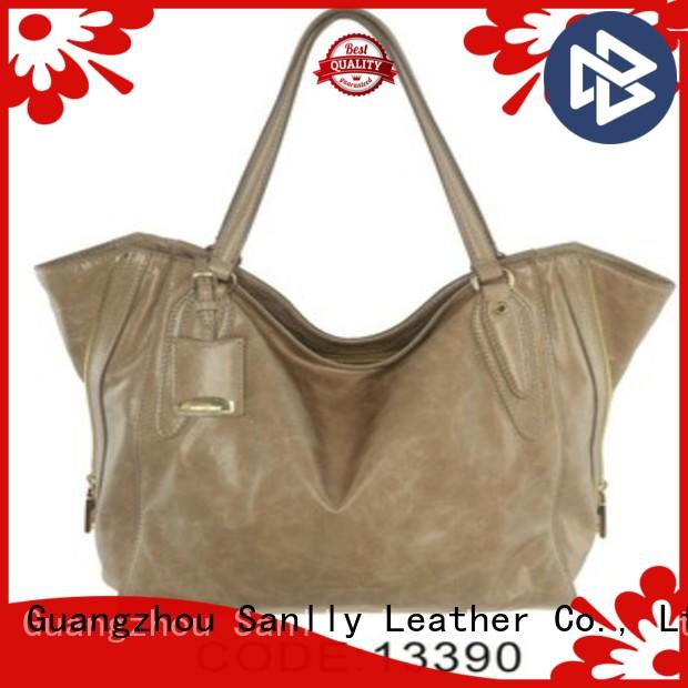Sanlly leather bags leather handbags Supply for women