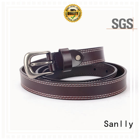 Custom Design Daily & Business Modern Mens All Leather Belts