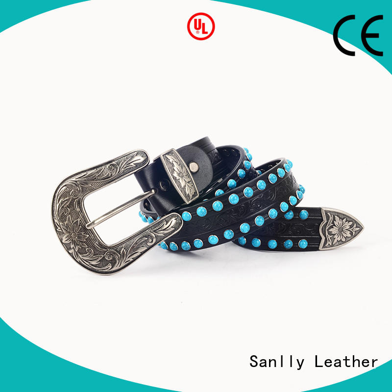 Sanlly high-quality canvas belt womens factory