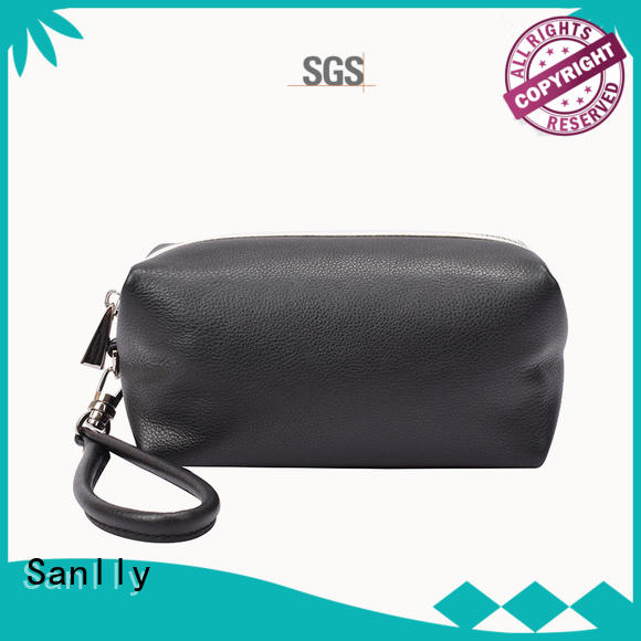 Sanlly bags leather wristlets for women supplier for women