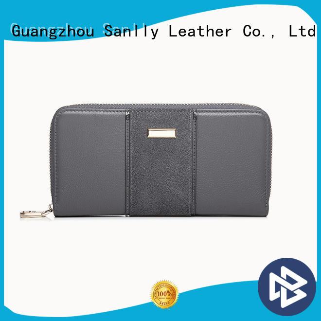 Sanlly zip women's wallets under 20 factory for modern women