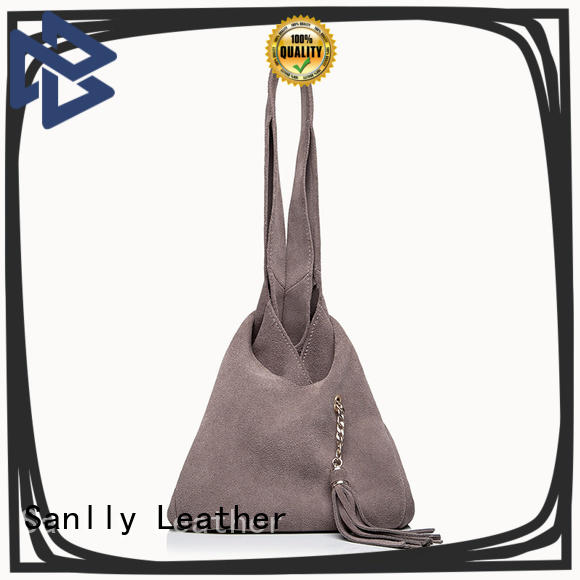 Sanlly ladies best women's leather tote bags buy now for single shoulder