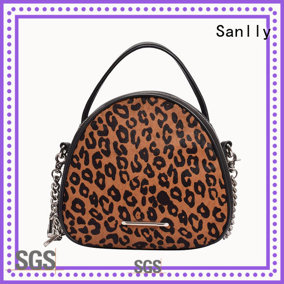 Sanlly top stylish ladies bag free sample for shopping