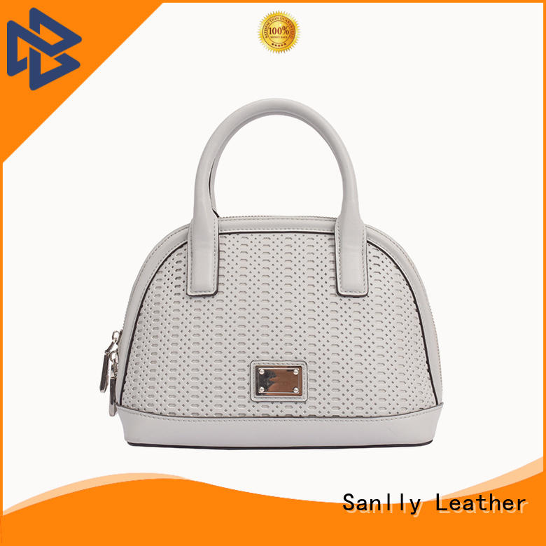 Sanlly large womens leather tote handbags supplier for girls
