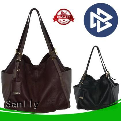 Sanlly New black and brown bag manufacturers for summer
