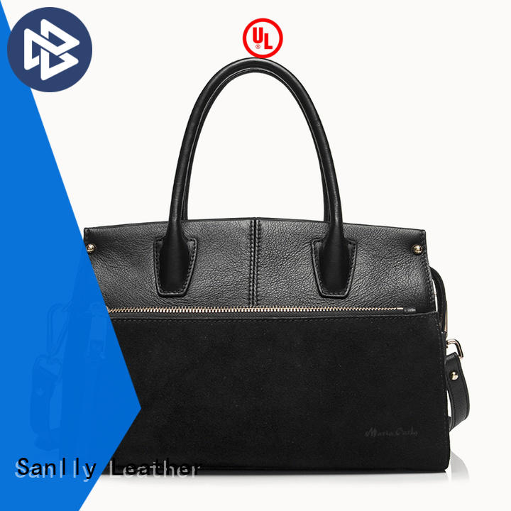 Sanlly on-sale soft leather handbags shopping for girls